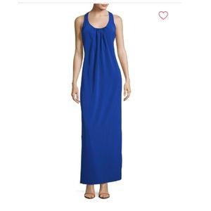 Amanda U. Maxi Dress, Blue, Size Small